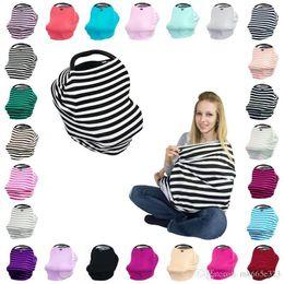 $enCountryForm.capitalKeyWord Australia - Multifunctional Nursing Cover 4in1 Multi-Use Stretchy Infinity Scarf Baby Car Seat Canopy Breastfeeding Shopping Cart High Chair Cover