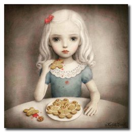Cartoon Strange Australia - Childish Strange Dark World By Mark Ryden Canvas Painting Wall Picture Poster And Print Decorative For Living Room Home Decor