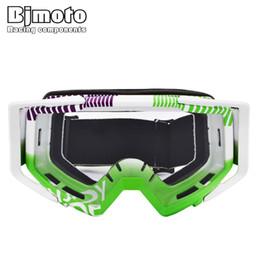 $enCountryForm.capitalKeyWord Australia - Bjmoto Free shipping helmet google goggles Motorbike Dirt Bike Motorcycle Vintage goggles glass Adult Motocross Glasses