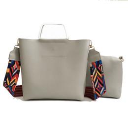 $enCountryForm.capitalKeyWord NZ - good quality 2 Pcs Luxury Handbags Pu Leather Women Waist Handbag Colorful Belt Bags Women Shoulder Bags New Trendy Bags