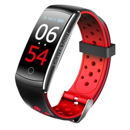 Q8 Smart Watch Australia - Q8S Q8 smart bracelet fitness Tracker heart rate monitor Blood Pressure Color Screen Waterproof Smart Wristband Watch for apple pk fitbit