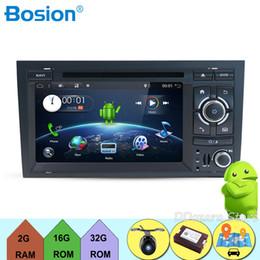 $enCountryForm.capitalKeyWord Australia - For Audi A4 Car DVD Player Android 7.1.1 Quad Cores Multimedia 7 inch Navigator with Wifi 3G BT Radio GPS Mirror link