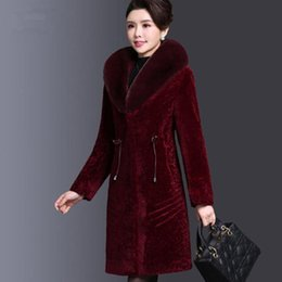 $enCountryForm.capitalKeyWord NZ - Middle Aged Women Coats Winter Long Parka Jackts Plus Winter Coats For Women Fur Collar Warm Jackets Wool Nice Pop AS155