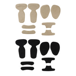 $enCountryForm.capitalKeyWord UK - 8 x High Heel Inserts Heel Grips Silicone Anti Slip Shoe Cushion Ball of Foot Insoles Forefoot Pads for Shoe Too Big
