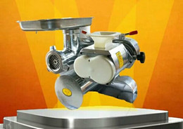 Slice Cutter Machine Australia - Meat slicing machine Powerful desktop electric winch dual-use meat grinder commercial cutting machine meat cutter household irrigation