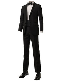 $enCountryForm.capitalKeyWord UK - Popular Two Buttons Groomsmen Shawl Lapel Groom Tuxedos Groomsmen Best Man Suit Mens Wedding Suits Bridegroom (Jacket+Pants+Tie) B015