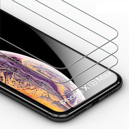 $enCountryForm.capitalKeyWord Australia - For iPhone XS MAX XR X 7 8 6 Plus Galaxy S6 Note 5 Premium 2.5D Tempered Glass Screen Protector Huawei Mate 20 Pro