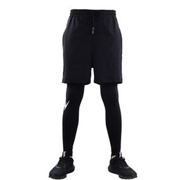 $enCountryForm.capitalKeyWord UK - Men Running Jogging Shorts Sports Yoga Sportswear False Two Pieces Fitness Exercise Gym Compression Shorts Clothes Plus size 3XL