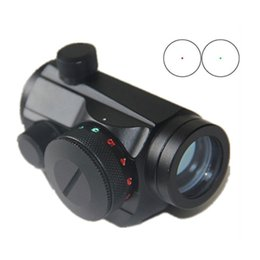 Green Scope NZ - New High Strengh Aluminum Material Tactical Holographic Red Green Dot Sight Scope With 20mm Picatinny Weaver Rail Mount.
