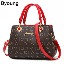 1aa992c002a7 Byoung Litchi Texture PU Leather Handbags For Women Bags Vintage Fashion  Shoulder Bags For Female Beautiful Elegant Ladies