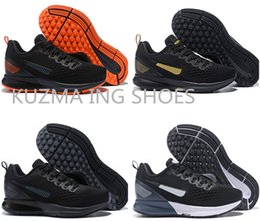 da732e9e7e9e Customize shoes online shopping - Men s Zoom Pegasus Running shoes Lunar  breathable black White Shoes