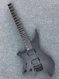 $enCountryForm.capitalKeyWord NZ - Flame black left-handed headless electric guitar, personalized service