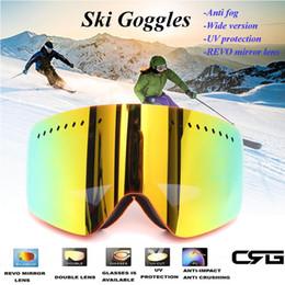 893ff56b409 Snow Sport Professional Skiing Snowboard Goggles Dirt Bike Glasses Anti Fog  UV Protection Double-Lens