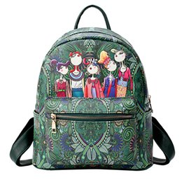 $enCountryForm.capitalKeyWord Australia - Sleeper #401 2018 New Women Forest Girls Pattern Large-Capacity Backpack Sutdent Shoulder School Bag for girls hot Free Shipping
