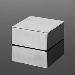 Neodymium N52 Block Magnet Australia - Hardware Magnetic Materials New ! Super Powerful N52 454520mm Magnet Block Strong Magnets Rare Earth Neodymium Magnet 45x45x20mm