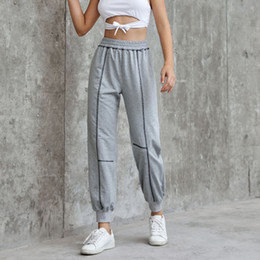 $enCountryForm.capitalKeyWord Australia - Sport Leggings Women Fitness Leggings Women With Pocket Loose Pants Ladies Sport Yoga Pants Workout Fitness