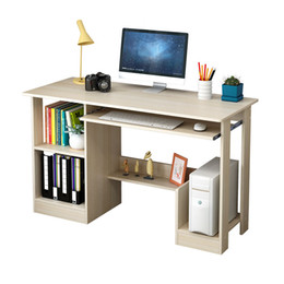 quality living room furniture UK - Simple Computer Desk Modern Office Desk Student Writing Studying Desk High Quality Learning Table Home Furniture