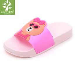 Slippers Kocotree Children Cartoon Casual Slippers Kids Indoors Wear Slippers Girl Bathroom Anti-slip Slippers Boy Summer Bath Slippers