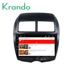 "$enCountryForm.capitalKeyWord Australia - Krando Android 8.1 10.1"" IPS Full touch car Multmedia system for MITSUBISHI ASX  Peugeot 4008 audio player gps navigation wifi car dvd"