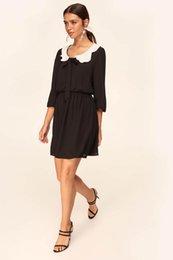 Black Blocks Australia - Trendyol Black Color Block Dress TOFAW19LE0035