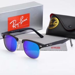 8a7deedc743ee6 Luxury Ray Polarized Sunglasses Men Women Pilot Sunglasses UV400 Eyewear  Aviator Glasses Driver Bans Metal Frame Polaroid Lens box
