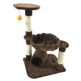 cc8d1c022520 ANITA-M51 Multi-Level Cat Tree with Sisal-Covered Scratching Posts,Padded  Condo&Top Perch,Cat Play House Activity Furniture Tower ActOEM&ODM