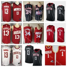 $enCountryForm.capitalKeyWord Australia - Whosale Cheap Russell 0 westbrook Mens Houston James 13 Harden Rockets Hakeem 34 Olajuwon Tracy 1 McGrady Basketball Jerseys