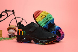 Best kids sneakers online shopping - Baby Kids Shoes Mercurial TN Boys Designer Running Shoes Girls Casual Outdoor Trainer Children Best Hiking Jogging Sports Sneakers