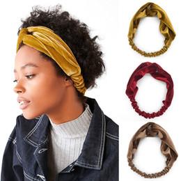 $enCountryForm.capitalKeyWord NZ - Floral Print Women Cotton Stretch Twist Headbands Turban Sport Bandana Hair Accessories Bandage On Head Gum Hair Bands LE259