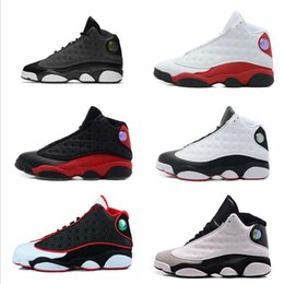 69551b7136fa8a fashion High Quality 13 Bred Men Women Running Shoes 13s Grey hot sale top  quality Sneakers size us6-us12
