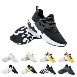 ShoeS flat feet men online shopping - Hot Sale Presto Mid Epic React Men Women Running Shoes Comfortable Foot Feel Mesh Breathable Sneakers Black White Casual Shoes