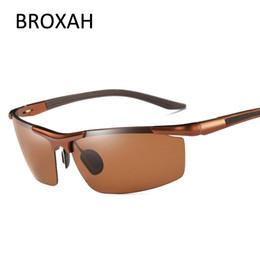 Magnesium Coating Australia - Aluminum Magnesium Men's Sunglasses Polarized Goggles Coating Mirror Driving Sun Glasses for Men oculos Male Eyewear Accessories