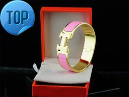 Jade Coral Beads Australia - 2019 Celebrity design Letter Metal Buckle Silver bracelet Fashion Metal Clover Cuff Bracelets Gold Jewelry With Box