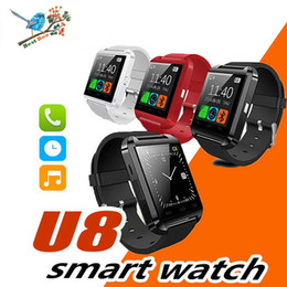 smartwatch u8 smart watch NZ - Smartwatch U8 Bluetooth Smart Watch Touch Wrist WristWatch For IPhone IOS Android Smart Phone Wear Clock Wearable Device Smartwach