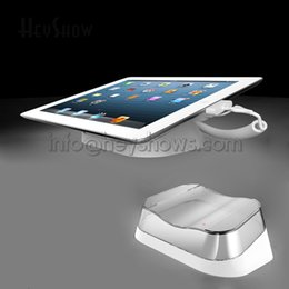 Acrylic tAblet stAnd online shopping - 10x Acrylic ipad Security Display Stand Tablet PC Alarm System Anti theft Holder Base Charging For All Brand Pad Retail Shop