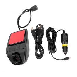 Avi video recorder online shopping - Universal P HD Car Dash Camera WIFI Video Driving Traffic Recorder P AVI Plastic Metal degrees car dvr