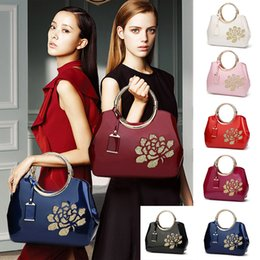 $enCountryForm.capitalKeyWord Australia - High-grade Bright Leather Handbag Bags For Women Shoulder Messenger Crossbody Bags Casual Clutch Tote bolsa feminina 2019