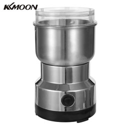 Coffee beans grinder online shopping - KKMOON W ml Stainless Steel Electric Coffee Bean Grinder Blenders for Kitchen Office Home Use Grains Grinding Machine