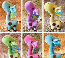 $enCountryForm.capitalKeyWord Australia - Lovely Giraffe Soft Plush Toy Animal Dear Doll Baby Kid Children Birthday Gift K0293