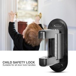 car window rubbers UK - Child Safety Doors Lock Plastics Efficient Restrictor Children Security Car Window Door Limit Lock Security Accessories