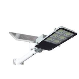 venda por atacado Luzes de rua LED solares à prova d'água 100W 200W 240w 300W 360W LED Luz solar LED Lâmpada solar da luz de inundação para o estacionamento do jardim da plaza