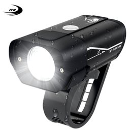 $enCountryForm.capitalKeyWord Australia - FTW Bicycle Front Light Lamps 350 Lumens USB Rechargeable Aluminum Alloy MTB Road Bike Light LED Handlebar Rainproof Lantern
