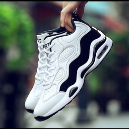 Drop shipping Mens Basketball Shoes Black Cheap white red Fashion High quality Men women athletic Outdoor trainers sports sneakers EUR 39-44 on Sale