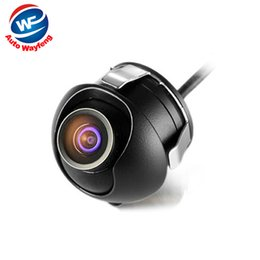 Front View Parking Camera Australia - plug Factory Promotion CCD HD night vision 360 degree car rear view front camera front view side reversing backup WF