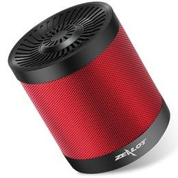 ZEALOT S5 Портативный Bluetooth Speaker колонка беспроводной сабвуфер Super Bass стерео USB TF карта играть с микрофоном на Распродаже