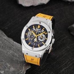 Ingrosso 2019 Hubl0t big bang F1 orologio da uomo sportivo di alta qualità movimento al quarzo orologi tono cronometro da uomo