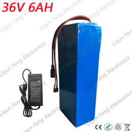 $enCountryForm.capitalKeyWord Australia - 36V 6AH Electric Bicycle Lithium Battery 36V 250W EBike li-ion Battery with 42V 2A charger 15A BMS use 18650 Power Battery