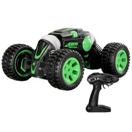 car charge double UK - Rc Car 4Wd Double-Sided 2.4Ghz One Key Transformation All-Terrain Vehicle Climbing Car Remote Control Truck