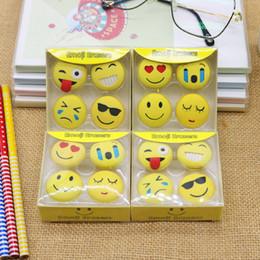 $enCountryForm.capitalKeyWord UK - Cartoon Emoji Erasers Cute Emotions Rubber Erasers For Girls Gifts School Supplies Corrections Tools Stationery Y0063