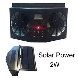 $enCountryForm.capitalKeyWord Australia - best price sale 12V Car Solar Fan Portable Air Vent Cool Fan Cooler Ventilation System Radiator Portable